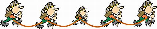 DBR3(全員をロープで結ぶ)